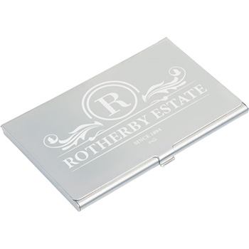 Aluminium business card holder business card holders executive gifts aluminium business card holder reheart Gallery