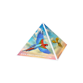 Recycled Magnetic Paperclip Pyramid