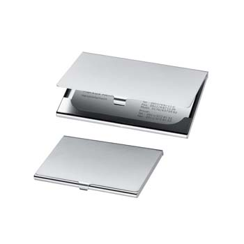 Cornwall Metal Business Card Holder