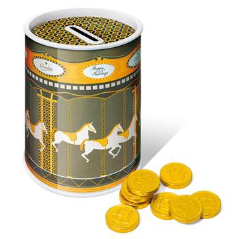 Carousel Tin – Chocolate Coins