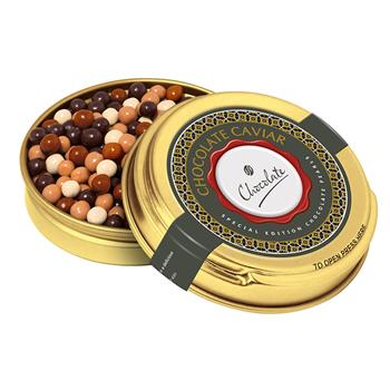 Gold Caviar Tin – Special Edition Chocolate Pearls