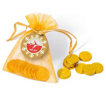 Organza Bag – Gold Coins