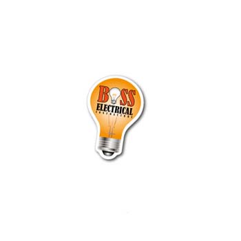 Light Bulb Fridge Magnet - Small