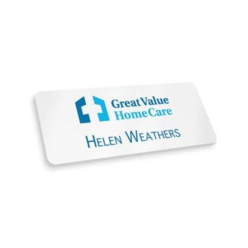 Plastic Name Badges - Magnet Fitting