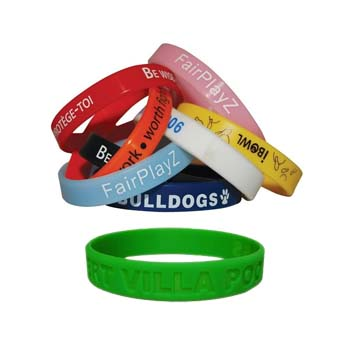 Childs Silicone Wristband
