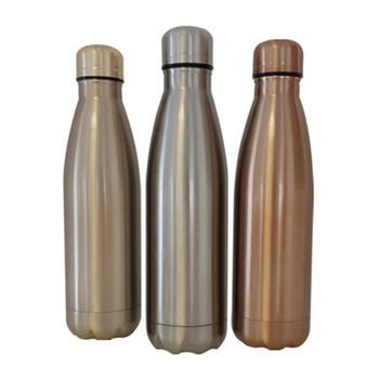 Metallic Metal Bottle - 500ml