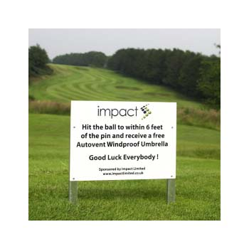 Golf Course Sign - A4