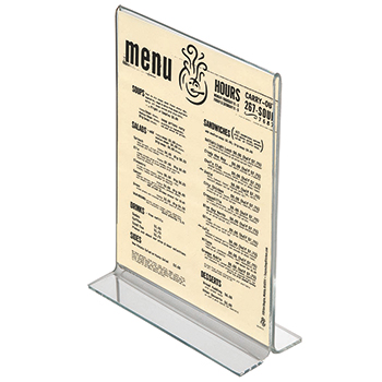 A4 Portrait Menu Holder