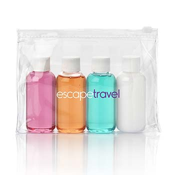 Weekend Travel Toiletry Set In a Bag
