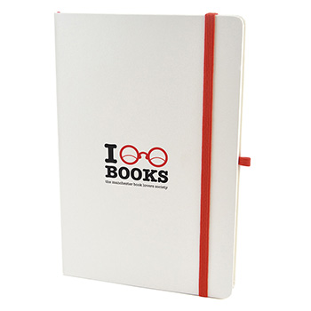 A5 White Hard Back Notepad