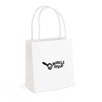 Brunswick White Paper Bag Small