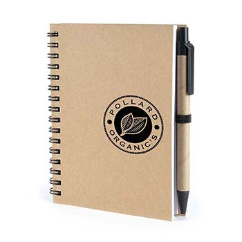Verno A6 recycled wiro bound Notebook