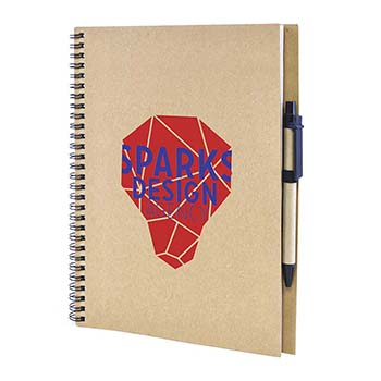 Lacrimoso A4 Recycled wiro bound note pad