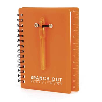 Canopus Spiral bound notebook with Pen