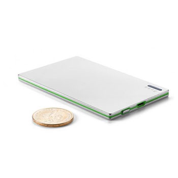Aluminium credit card 2000 power bank