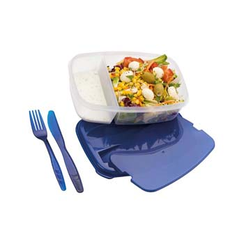 Matino Plastic Box with Cutlery