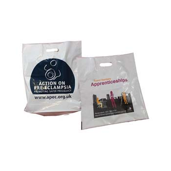 Standard Patch Handle Carrier Bag - Flood Printed
