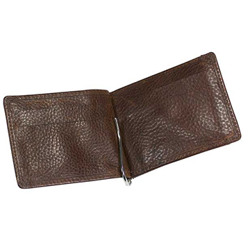 Ashbourne Leather Money Card Case