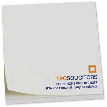 Square Notestix Recycled Adhesive Pads 75 X 75Mm