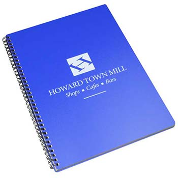 A4 Enviro-Smart Polyprop Pop Wiro Notebook