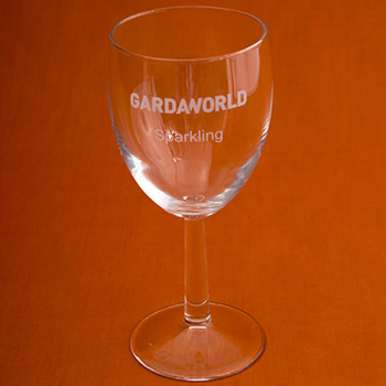 Modern Red Wine Glass