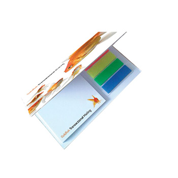 NoteStix Card Cover Adhesive Pads 105 x 75mm