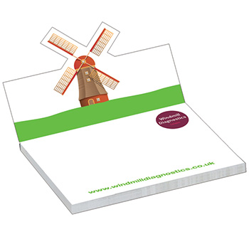 NoteStix 105 x 75mm Pop-Up Cover