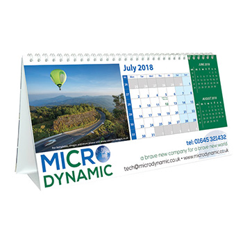 Panoramic Easel Calendar