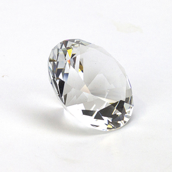 60mm Crystal Diamond Paperweight