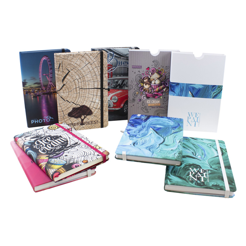 Soft Touch Lamination Notebook