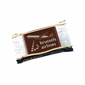 Exclusive Belgian Chocolate Single Clear Pack 5g