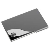 Golf Business Card Holder - Chrome